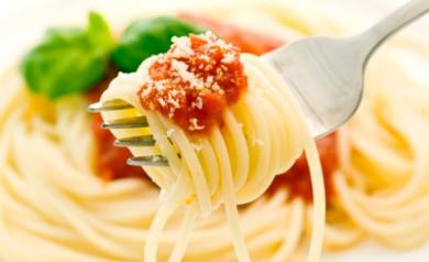 Ernährung Spaghetti