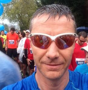 SwissCity Marathon Lucerne vom 27.10.2013 - Wenige Sekunden vor dem Start