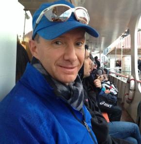 SwissCity Marathon Lucerne vom 27.10.2013 - Überfahrt mit dem Schiff vom KKL Luzern zum Verkehrshaus