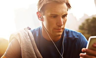 Musik hören beim Laufen
