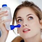 Hausmittel gegen Erkältung, Nasenspülung