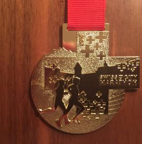 SwissCity Marathon Lucerne vom 26.10.2014 - Medaille