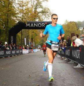 SwissCity Marathon Lucerne vom 26.10.2014 - Daumen hoch, es lief perfekt!