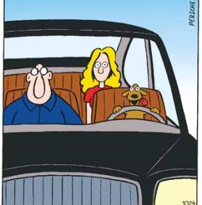 Humor zum Sonntag - Kluge Männer lassen, wenn sie betrunken sind, jemanden fahren, der dazu besser in der Lage ist