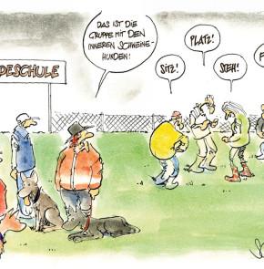 Humor zum Sonntag - Das ist die Gruppe mit den inneren Schweinehunden!