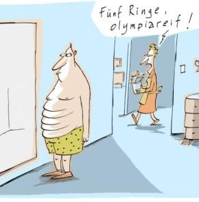Humor zum Sonntag - Fünf Ringe, olympiareif!
