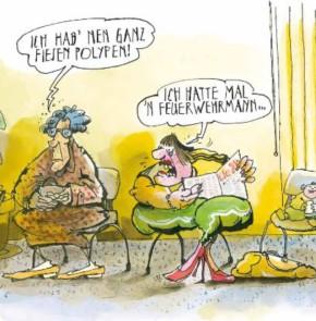 Humor zum Sonntag: Ich hab nen ganz fiesen Polypen! Ich hatte mal n Feuerwehrmann...