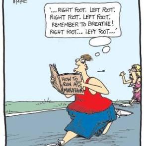 Humor zum Sonntag: How to run a Marathon.