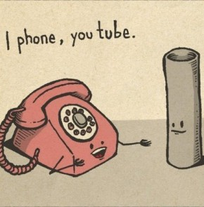 Humor zum Sonntag: I phone, you tube.
