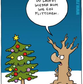 Humor zum Sonntag: Du läufst wieder zum wie ein Flittchen.