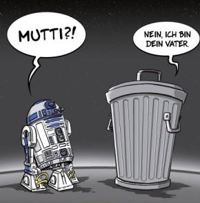Humor zum Sonntag: Mutti ?! Nein, ich bin dein Vater.