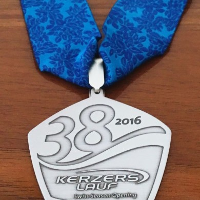 38. Kerzerslauf vom 19.3.2016 - Medaille
