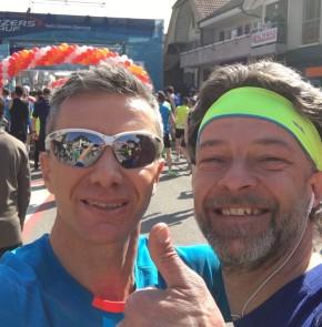 38. Kerzerslauf vom 19.3.2016 - Mit dem sympathischen Mario Ritschard (@mario_giri) wenige Minuten vor dem Startschuss.