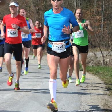 38. Kerzerslauf vom 19.3.2016 - Unterwegs Richtung Ziel (13 km)