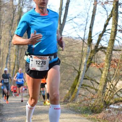 38. Kerzerslauf vom 19.3.2016 - Entlang dem Niederried Stausee