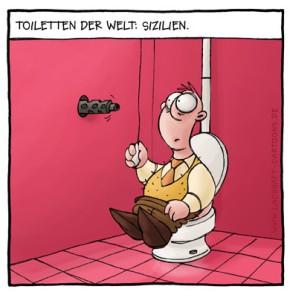 Humor zum Sonntag: Toiletten der Welt - Sizilien