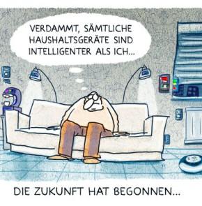 Humor zum Sonntag: Verdammt, sämtliche Haushaltgeräte sind intelligenter als ich...