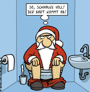 Humor zum Sonntag: So, Schnauze voll! Der Bart kommt ab!