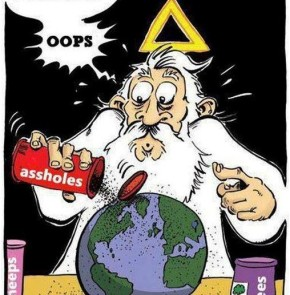 Humor zum Sonntag: And just a pinch of... oops!