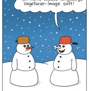 Humor zum Sonntag: Ich hatte dieses langweilige Vegetarier-Image satt!