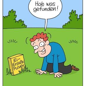 Humor zum Sonntag: Veganer Osterspass