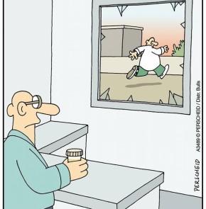 Humor zum Sonntag - Wenn man seine Urinprobe in der Spargelsaison einreicht.