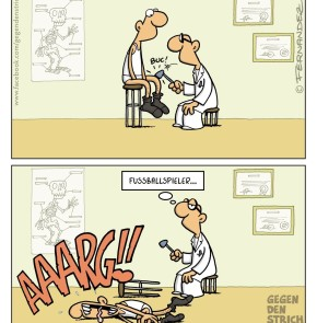 Humor zum Sonntag: Fussballspieler...