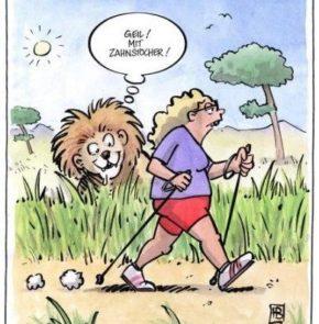 Humor zum Sonntag: Geil! Mit Zahnstocher!