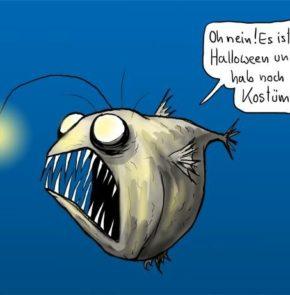 Humor zum Sonntag: Oh nein! Es ist bald Halloween und ich habe noch kein Kostüm!