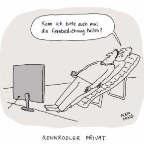 Humor zum Sonntag: Rennrodler privat
