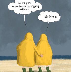 Humor zum Sonntag: Ich mag es, wenn du vor Erregung zitterst. Ich friere!
