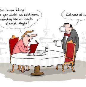Humor zum Sonntag: Bei ihnen klingt das gar nicht so schlimm, können Sie es noch einmal sagen? Colonavilus