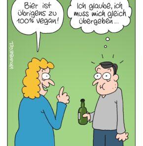 Humor zum Sonntag: Wie man Männern das Trinken verleidet.