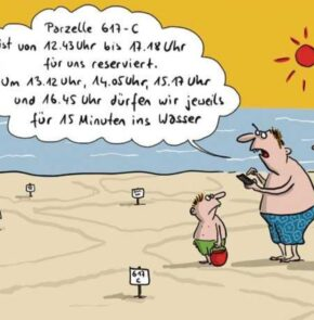 Humor zum Sonntag: Ferien am Meer 2020.