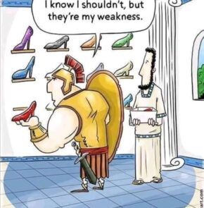 Humor zum Sonntag: I know I Shouldn't, but they're my weakness.