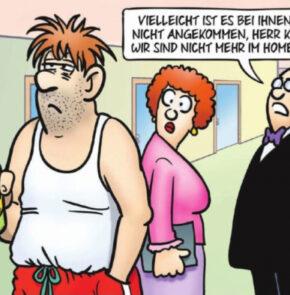 Humor zum Sonntag: Vielleicht ist es bei ihnen noch nicht angekommen, Herr Krüger. Wir sind nicht mehr im Homeoffice.
