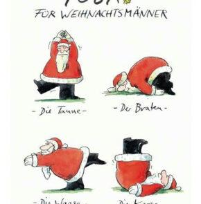 Humor zum Sonntag: Yoga für Weihnachtsmänner