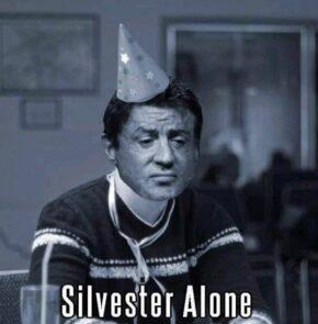 Humor zum Sonntag: Silvester Alone