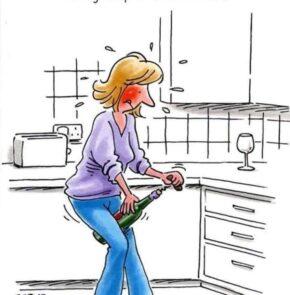 Humor zum Sonntag: Susie hielt sich immer fit und machte ihre regelmässigen ihre Beckenboden Übungen.
