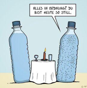 Humor zum Sonntag: Alles in Ordnung? Du bist heute so still.