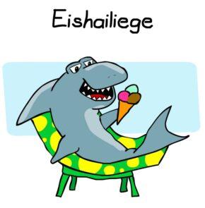 Humor zum Sonntag: Eishailiege.