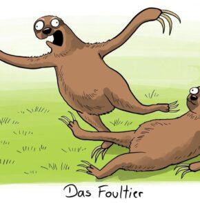 Humor zum Sonntag: Das Foultier